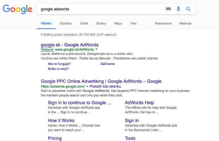 Online reklama